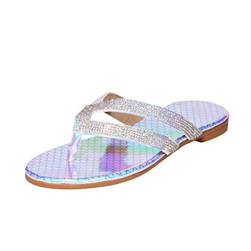 Sandales plates pour Femmes Sandales à Lanières Sangle de Cheville Des Sandales Bout Ouvert Sandales à enfiler Nouer romain Chaussures plates de plage