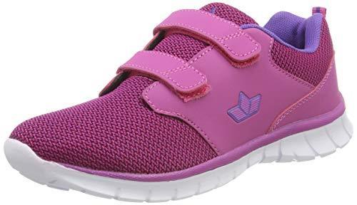 Lico NOLAN V Mädchen Sneaker, Pink/ Lila, 35 EU