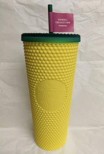 Starbucks 2020 Hawaii Exclusive Collection Becher mit matten, genieteten Ananas, 680 ml