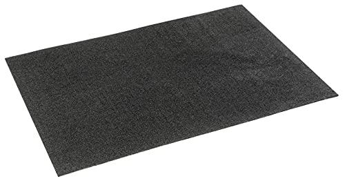 Walser Öl Auffangmatte Clean Max, robuste Schutzmatte 60x90cm, vielseitiger Garagen Protektor, strapazierfähige Saugmatte, Ölbindematte schwarz