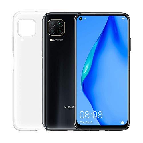 """Huawei P40 lite 5G avec mini-haut-parleur Bluetooth, 6.5 """"FullView Display Punch, 6 Go + 128 Go de mémoire, argent, version italienne"""