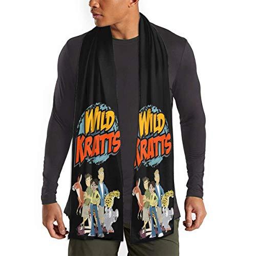 Mahada Wild Kratts Soft Scarf - Bufanda de invierno para hombre y mujer