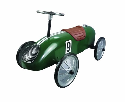 Why Choose Great Gizmos Green Retro Racer Ride On