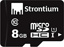 Strontium MicroSD Class 10 8GB Memory