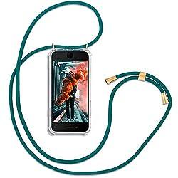 RebelCords Premium Handykette mit Hülle für Apple iPhone 7/8 / SE (2020) - Smartphone Necklace with Case - Handyhülle mit Umhängeband für Arbeit, Freizeit, Shopping, Ausgehen etc.