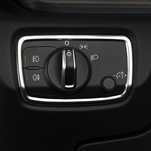 para A3 8V 2012-2019 Sedán / Sportback Interior Faro botón Interieur Listones...