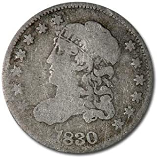 1830 Capped Bust Half Dime VG Dime Very Good
