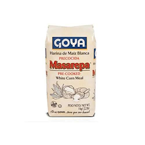 Harina de maíz blanca precocida Masarepa - Arepas suaves con la mejor harina de maíz precocida