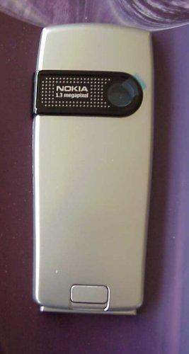 Akkudeckel Batteriedeckel B-Cover Batterycover Cover original Nokia 6230i Silver
