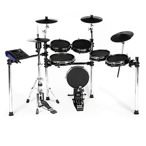 Fame DD-ONE XT E-Drum Set mit 1100 Einzelsamples von Simon Phillips (Elektronisches Schlagzeugset - echte HiHat, mit Recording)