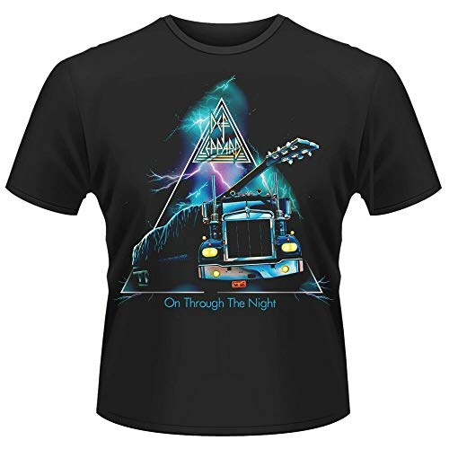 Def Leppard 'On Through The Night' T-Shirt - New & Official!