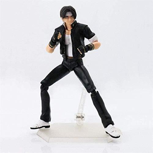 FJKYF Anime Toys King of Fighters KOF Iori Yagami Kyo Kusanagi Figura de acción móvil Juguetes Muñeca Caja 15cm