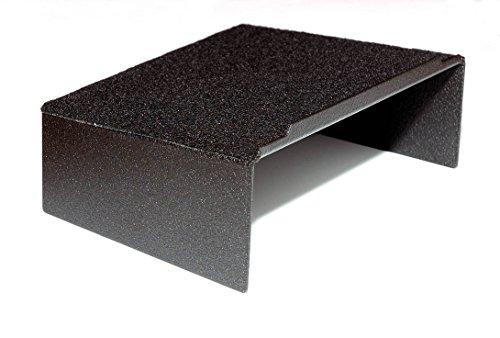 C7 Corvette Stingray/Z06/Grand Sport 2014+ Dash Storage Accessory Shelf - Black Powder Coated Aluminum