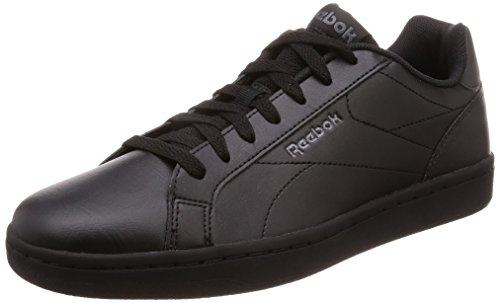 Reebok Royal Complete CLN, Zapatillas de Gimnasia Unisex Adulto, Negro (NM/Black/Ash Grey/Reflective NM/Black/Ash Grey/Reflective), 35 EU