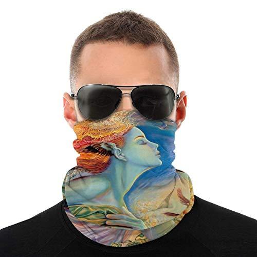 Nother Lindo oso polar divertido disfraz de animal bufanda cara cara lavable antipolvo, pasamontaas cuello bandana bufanda mscara