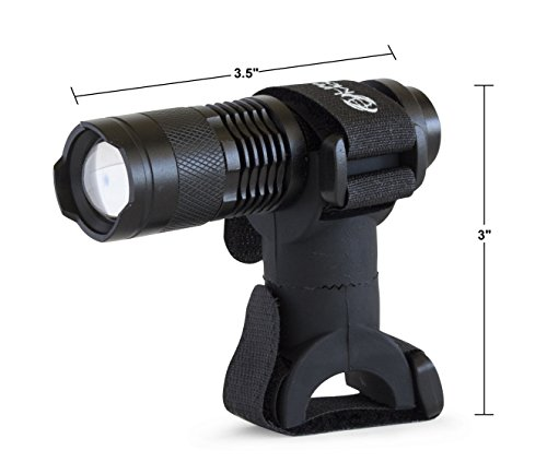 Life Mounts All Weather LED Barbecue Grill Light with Patented Universal Flex Mount (Black)