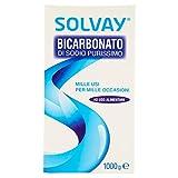 Solvay Bicarbonato di Sodio, 1000g