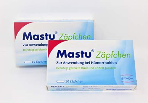 Mastu Zäpfchen 2 x 10 Stk - Original-Doppelpack von primeservice24 ®