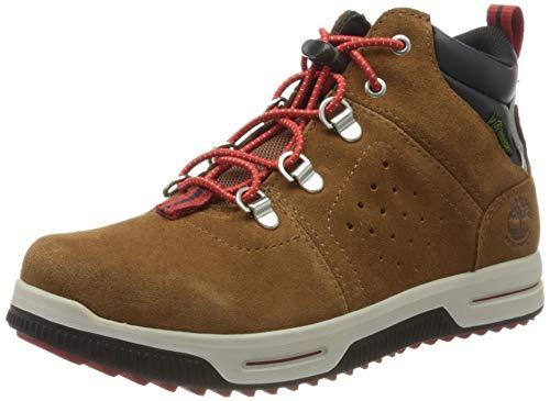 Timberland Unisex-Kinder City Stomper Mid Waterproof Klassische Stiefel, Braun (Tan), 33 EU