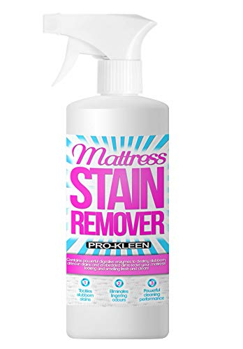 Pro-Kleen Mattress Stain Remover and Cleaner With Odour Neutraliser Removes Stains Caused by Urine, Blood, Vomit and Faeces 500 ml