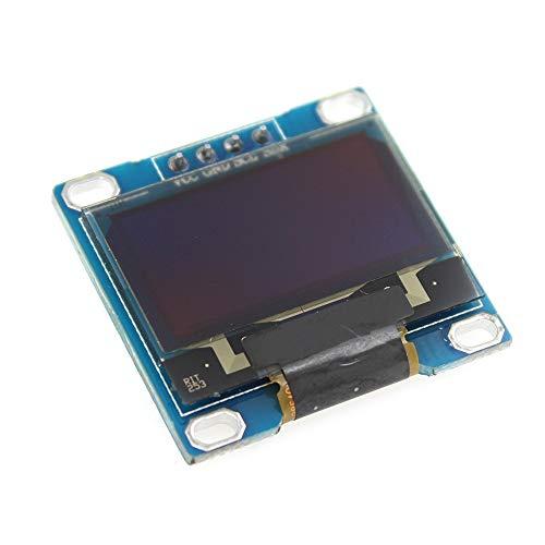 Conjuntos y componentes electrónicos DIY Fuente de Color Azul 0,96 128x64 I2C Interfaz OLED módulo de Pantalla