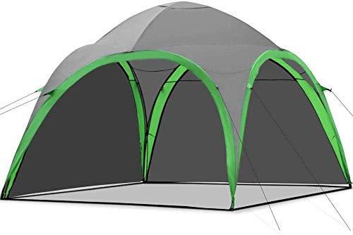Home Equipment Carpa de campamento familiar portátil Mochila ligera Carpa de domo Carpa de actividades con pared impermeable extraíble adecuada para picnic al aire libre, caminatas en la playa y pe