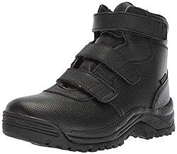 top 10 propet cliff walker Propet Cliff Walker Men's High Strap Hiking Shoes Black 10.53E US