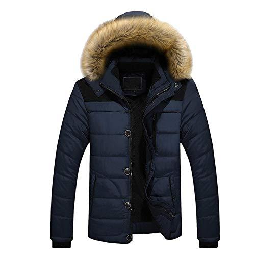 KissYou Herren Mountain wasserdichte Skijacke Warme Winter Schneemantel Windbreaker Hooded Outdoor Jacken(#03,XL)