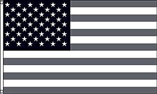 AZ FLAG Bandera Estados Unidos Negro Y Gris 150x90cm - Bandera America – EE.UU - USA 90 x 150 cm