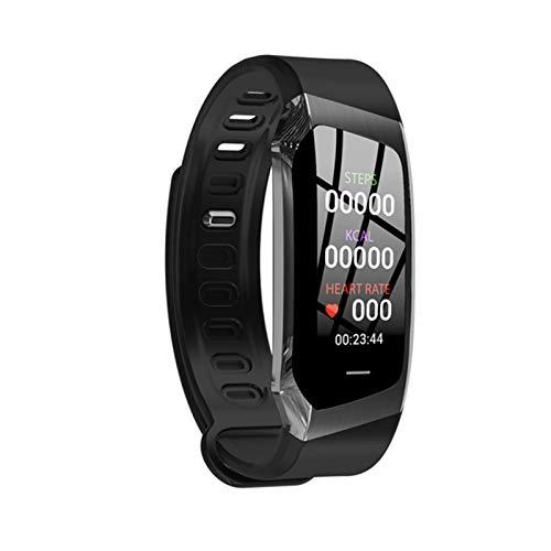 FZXL E18 Monitor De Ritmo Cardíaco Pulsera De Salud Deportiva Hombres Y Mujeres Seguimiento De Actividades Bluetooth Pulsera De La Presión Arterial (para Teléfonos iOS De Android),B