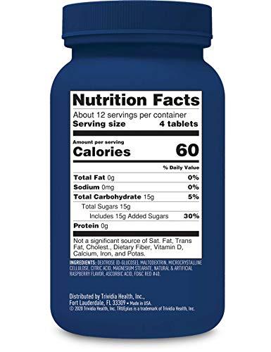 buy TRUEplus® Glucose Tablets, Raspberry – 50ct Blood Test Strips