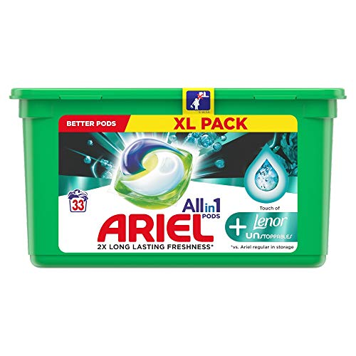 Ariel All-In-1 Pods+ Lenor Unstoppables 33 Unidades 960 g