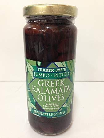 Trader Joes JUMBO In a popularity Pitted Greek Kalamata 14.5 Olives Pack oz of Lowest price challenge
