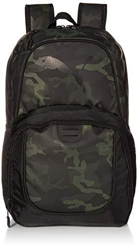 PUMA Unisex's Contender Backpack, Dark Green, One Size
