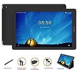 Tablet 10 Pulgadas Tablet Android 8.1,4G Phablet con Ranuras para Tarjetas SIM Dobles Procesador de Cuatro Núcleos 1.3GHz, 3G + 32GB, Doble Cámara Dobles SIM Tablet,WI-FI, GPS, Bluetooth