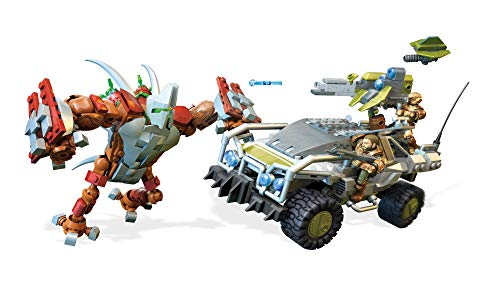 Mega Construx - Halo FVK36 - UNSC Forgehog vs. Banished Goliath