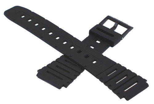 Casio 71604130 Genuine Factory Replacement Resin Band fits CA-53W-1 CA-61W-1 FT-100W-1 W-520U-1 W-720-1 W-720G-9