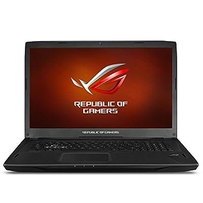 "ASUS ROG Strix G-SYNC 120 Hz Full HD VR Ready Ultra Thin and Light Gaming Laptop Computer GeForce GTX 1070 8GB Core i7-7700HQ, 16GB DDR4 DRAM, 128GB SSD, 1TB HDD, 15.6"", Black - GL502VS-DS71"