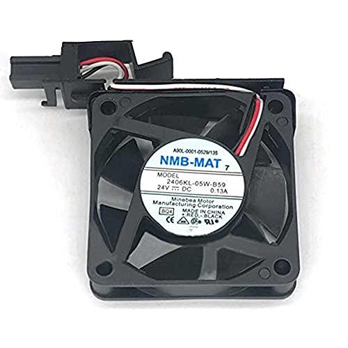 Over item handling 2406KL-05W-B59 DC24V 0.13A NMB-MAT 3-Wire Sale item 60x60x15mm Server Cool
