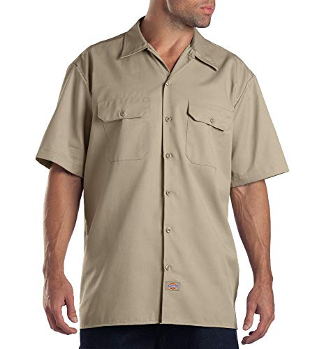Dickies Work Chemise Manches courtes Homme - Beige (Khaki) - 3XL