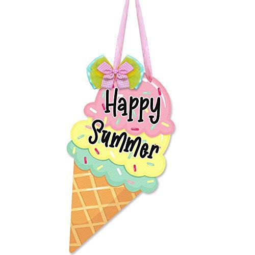 Ice Cream Cone Door Sign Cutout