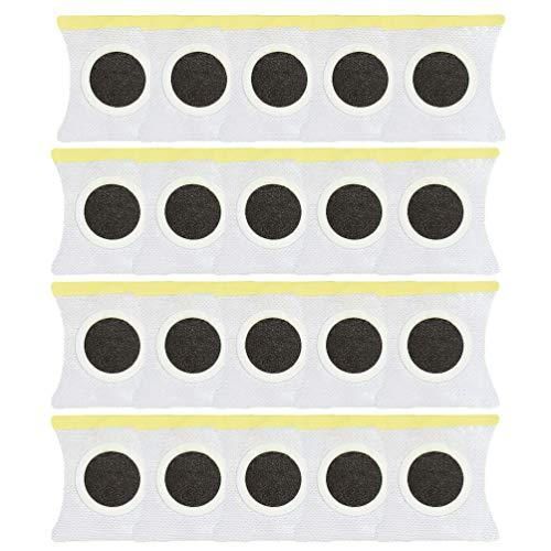 EXCEART Gewichtsverlies Pleisters Snel Afslanken Aanscherping Sticker Voor Bierbuikemmers Taille Taille Buikvet 20St
