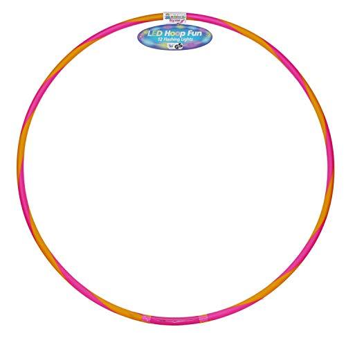 alldoro 63030 Hoop Fun - Aro de 78 cm de diámetro con 12 Lu