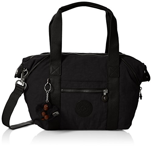 Kipling Art Mini, Borse a secchiello Donna, Nero (True Black), 34x21x18.5 cm