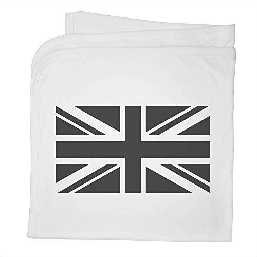 Azeeda 'Drapeau Union Jack' Couverture / châle en Coton pour bébé (BY00013901)