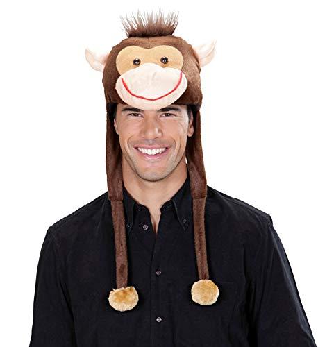 PartyClear Chapeau de singe pour enfants et adultes