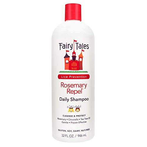 Fairy Tales Rosemary Repel Lice Shampoo- Daily Kids Shampoo for Lice Prevention, 32 Fl Oz (Pack of 1)