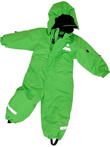 Maylynn Outdoor Maylynn Mini Baby Softshell Schneeanzug Schneeoverall grün, Größe:86
