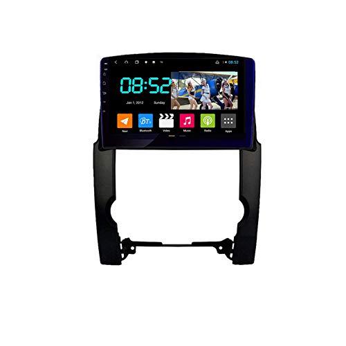 Foof Autoradio Coche Bluetooth 2 DIN Android Radio De Coche 10.1'' Pantalla Táctil WiFi Plug and Play Completo RCA Soporte Carautoplay/GPS/Dab+/OBDII para Kia Sorento 2 XM,Octa Core,4G WiFi 6G+128G