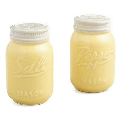 yellow ceramic jars - 7